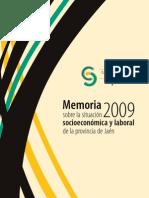 Memoria Socioeconomic A y Laboral CES 2009v1