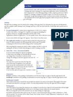Tutorial 1 Newspaper Design Instructions