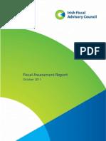 Irish Fiscal Advisory Council October 2011 - First Draft