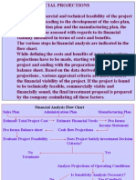 Proj. Apprl. Financial Projections