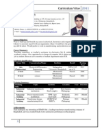 CV of MURSHEDUR RAHMAN