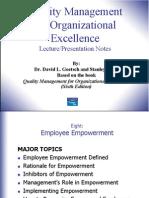 Chapter8 Employee Empowerment