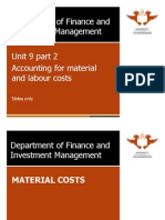 Unit 9-Accounting for Material and Labour Costs (Fin Man 1B 2011) - Part 2