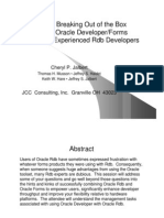 Breaking Out of the Box Oracle Forms