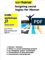 Lecture Technology Hamar