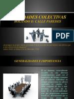 SOCIEDADES COLECTIVAS