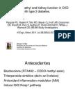 Bardoxolone Methyl in Cdk With Type 2 Diabetes