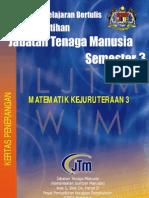 Matematik Kejuruteraan 3 Kertas Penerangan