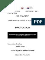 Protocolo - MALE