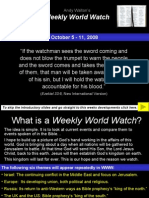 Weekly World Watch 5th October 2008