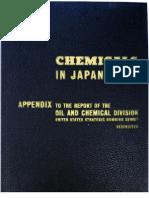 USSBS Report 50, Chemicals in Japan's War - Appendix