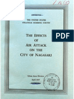 USSBS Report 59, Effects of Air Attacks on City of Nagasaki