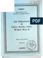 USSBS Report 67, Air Operations in China, Burma, India - World War II