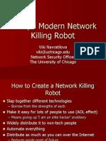 Network Killing Robot