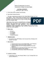 Council Agenda 20080324