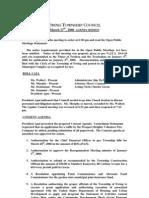 Council Agenda 20060327