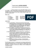 Council Minutes 20070813