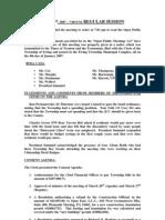 Council Minutes 20070410
