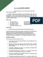 Council Minutes 20080421
