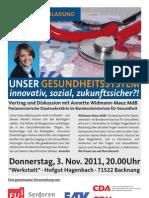 Veranstaltung mit Annette Widmann-Mauz MdB