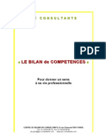 Doc Complet Bilan In Term It Tents