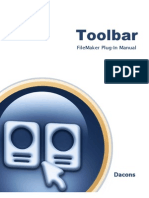Toolbar Manual