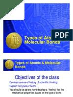 Atomic Bonds