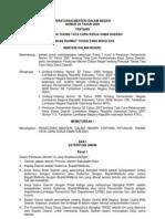 13. Permendagri Petunjuk Teknis Permendagri Nomor 22 & 23 Tahun 2009