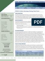 Global Advantage Strategy Bond Fund Institutional