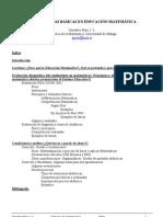 Competencias Basicas en Educacion a Gonzalez Mari