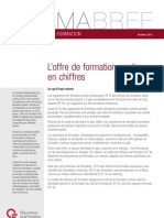 Formabref - L'offre de formation continue en chiffres