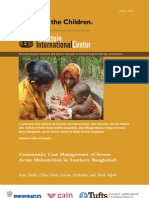 Community Case Management of Severe Acute Malnutrition in Southern Bangladesh