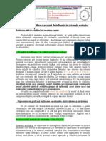 Analiza Statistica a Ecosistemelor