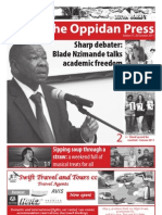 The Oppidan Press Edition 11