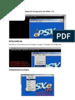 Guía Rápida De Configuración De ePSXe 1