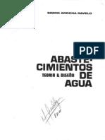 Abastecimiento de Aguas - Simon Arocha - Prologo
