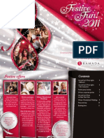 Ramada Bristol City Christmas Brochure 2011