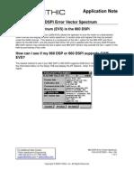 860 Dspi Error Vector Spectrum Appnote