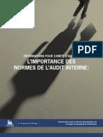 Importance Des Normes de l'Audit Interne