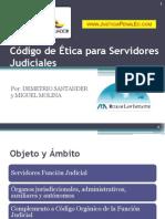 Santander - Código de Ética para Servidores Judiciales