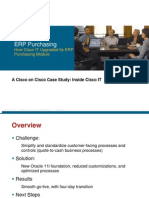 Cisco IT Case Study Oracle11i Everest Print