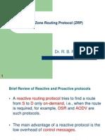 CSE 302 ZRP Protocol