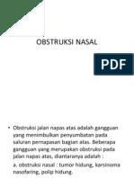Obstruksi Nasal