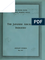 USSBS Report 15, The Japanese Aircraft Industry