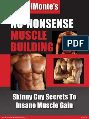 No Nonsense Muscle Building - Men | Goal | Motivation