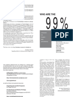 Who are the 99% - Printable spreads