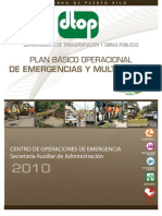 Plan de Emergencias 2010