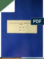 USSBS Report 93, Effects of Atomic Bombing on Nagasaki, V2, OCR