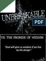 Unbreakable Week 7