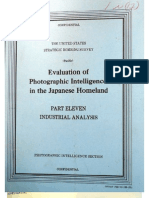 USSBS Report 108, Evaluation of Photographic Intelligence in the Japanese Homeland, Evaluation of Photographic Intelligence, Industrial Analysis